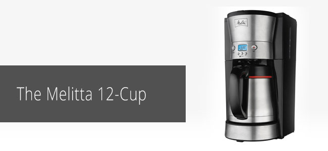 The-Melitta-12-Cup-Coffee-Maker