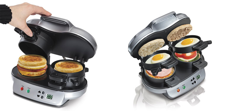 Hamilton-Beach-25490A-Dual-Breakfast-Sandwich-Maker