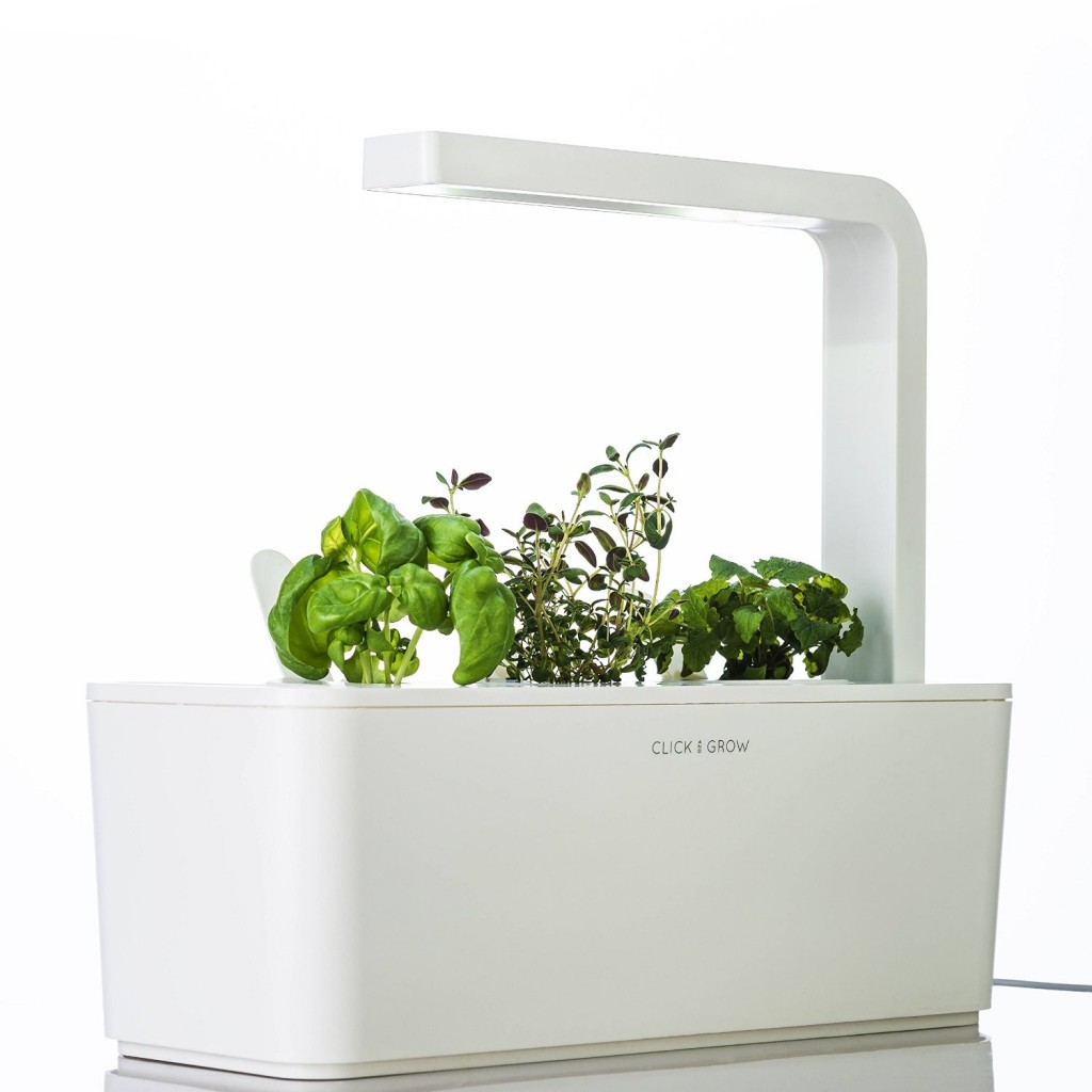 Click & Grow Smart Herb Garden Indoor white