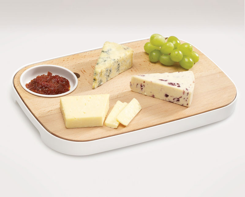 Slice & Serve - Bread and Cheese Board by Joseph Joseph