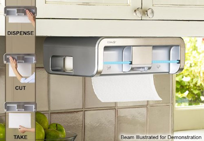 Clean Cut Touchless Paper Towel Dispenser