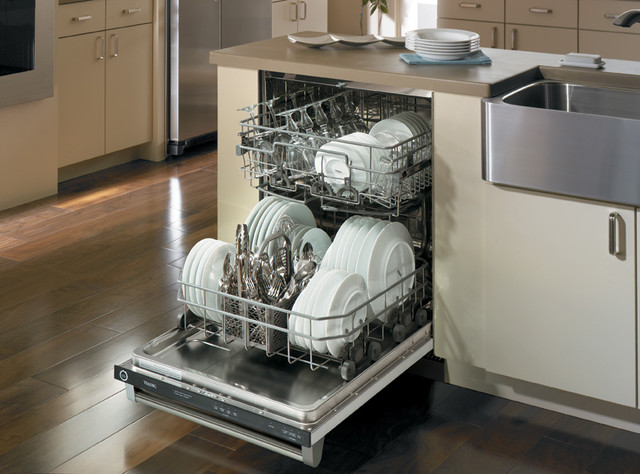 how to clean stainless steel dishwasher interior images