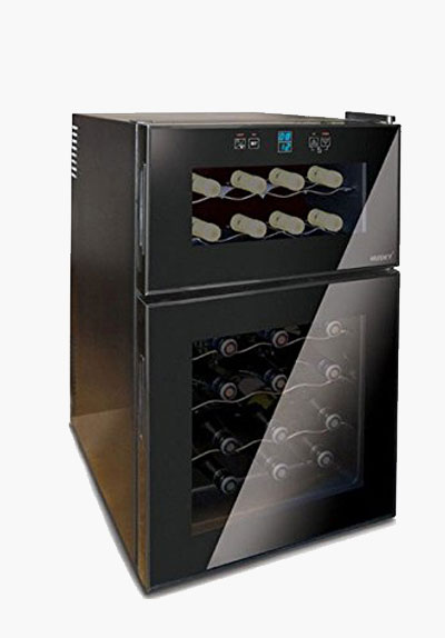 Husky HN7 Dual Zone Reflections Wine Chiller