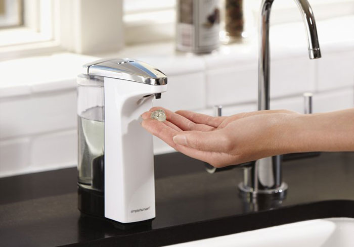 best hand soap dispensers for a germ free kitchen
