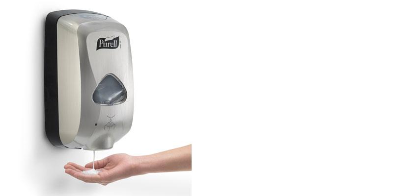 PURELL 279012EEU00 TFX Touch Free Dispenser