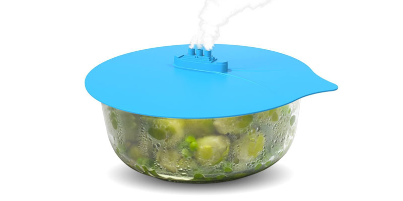 Silicone Steam Ship Pot Lid