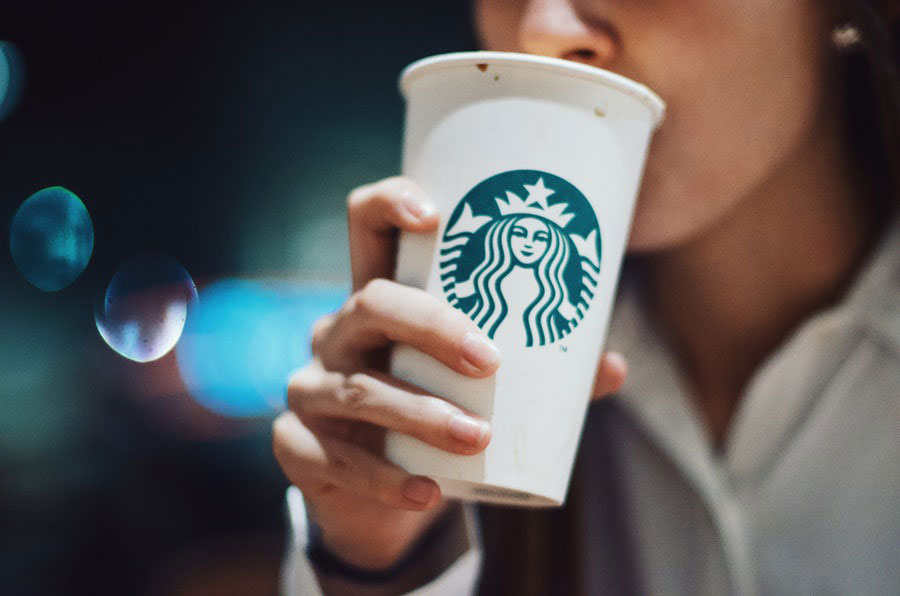 Black Starbucks Mugs & Travel Flasks