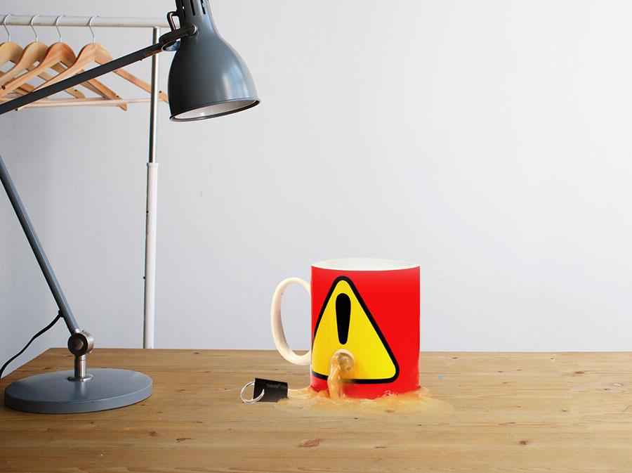 Plug Mug! Stop your Mug Being Used by Others!